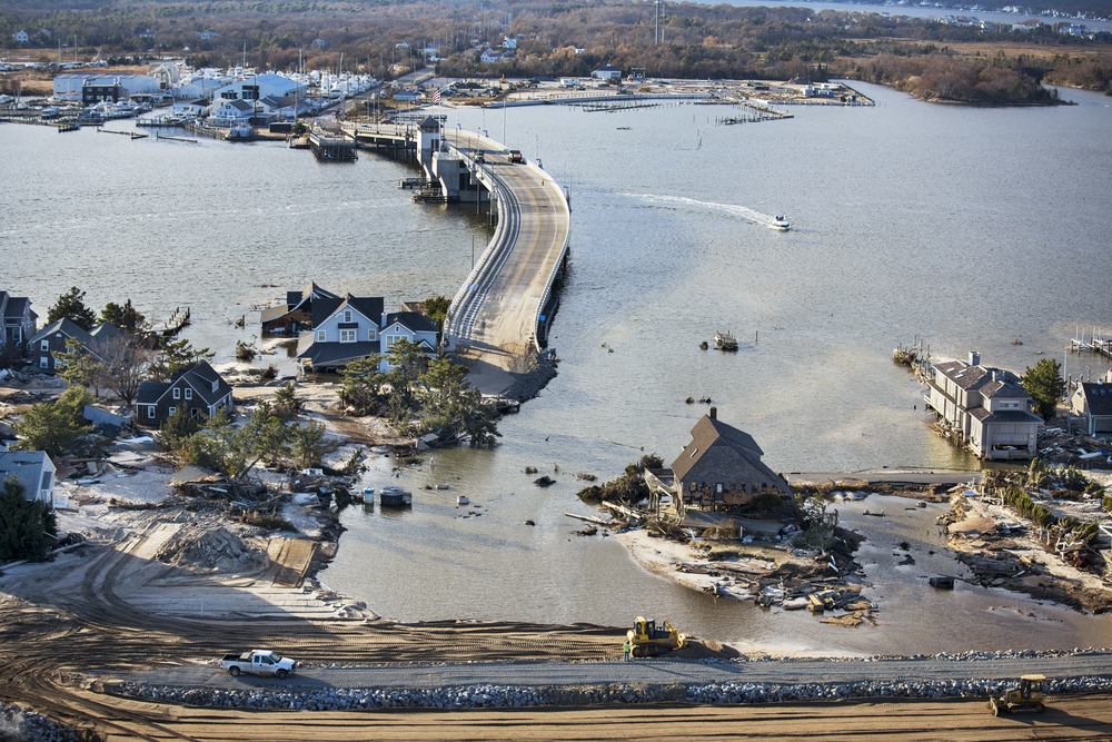 Super Storm Sandy: Mantoloking, NJ © Stephen Wilkes