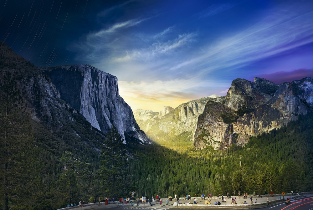 Day to Night: Yosemite © Stephen Wilkes