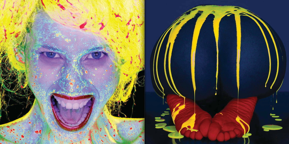 Left: Liquid Light Study #1081, Camilla Thorsson, photographed in New York City, March 2005 Right: Liquid LIght Study #1050, Kennitta Lindsey, photographed in New York City, January 2005  © Howard Schatz and Beverly Ornstein