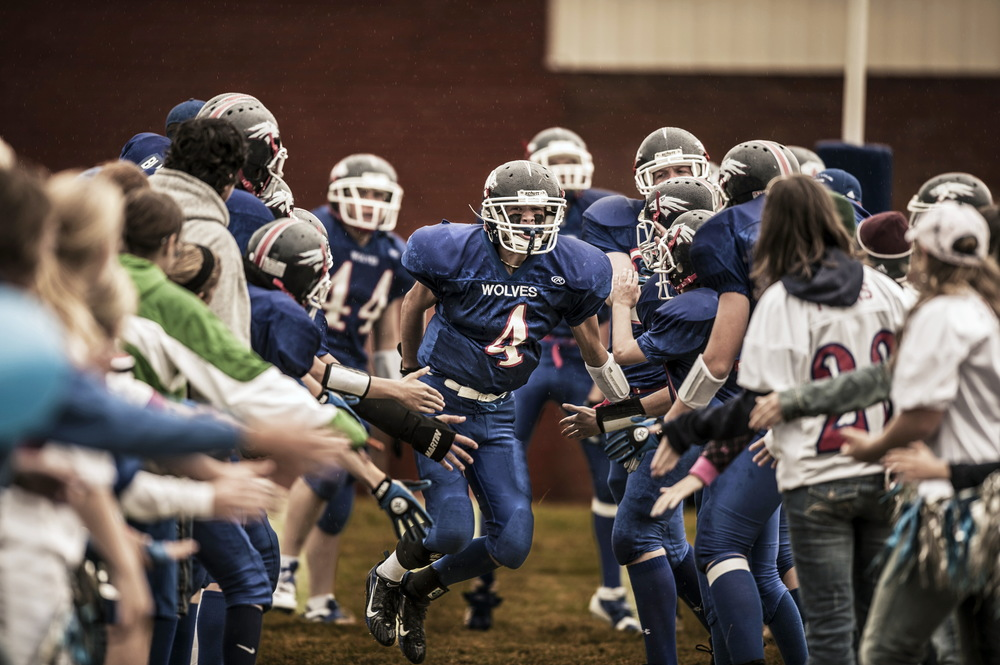 Arthur County football, Arthur, Nebraska. © Bill Frakes/Straw Hat Visuals