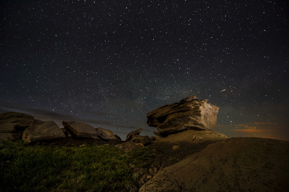 Toadstool Geologic Park outside Crawford, Nebraska.© Bill Frakes/Straw Hat Visuals