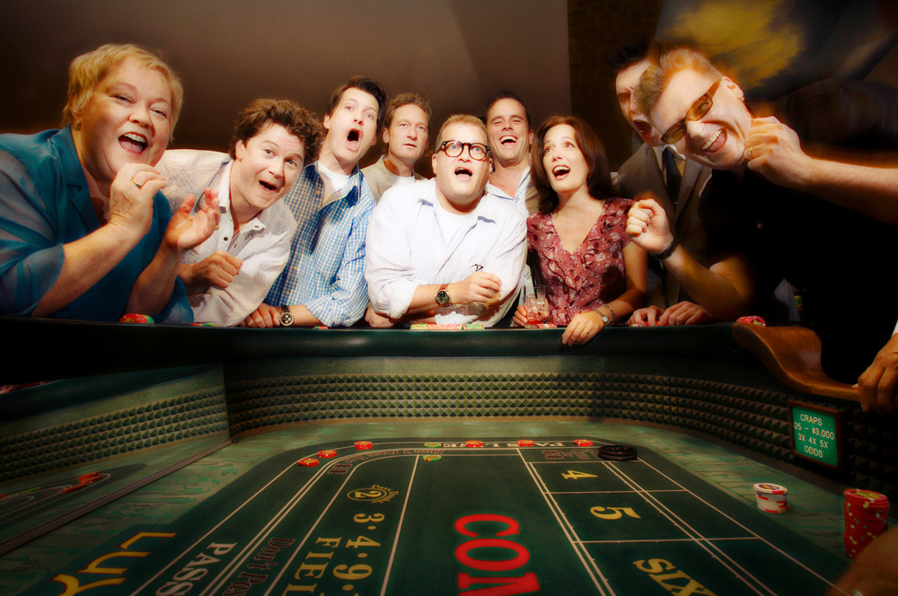 Drew Carey and the Improv All-Stars perform at the Luxor Hotel in Las Vegas. August 19, 2006 © David Bergman