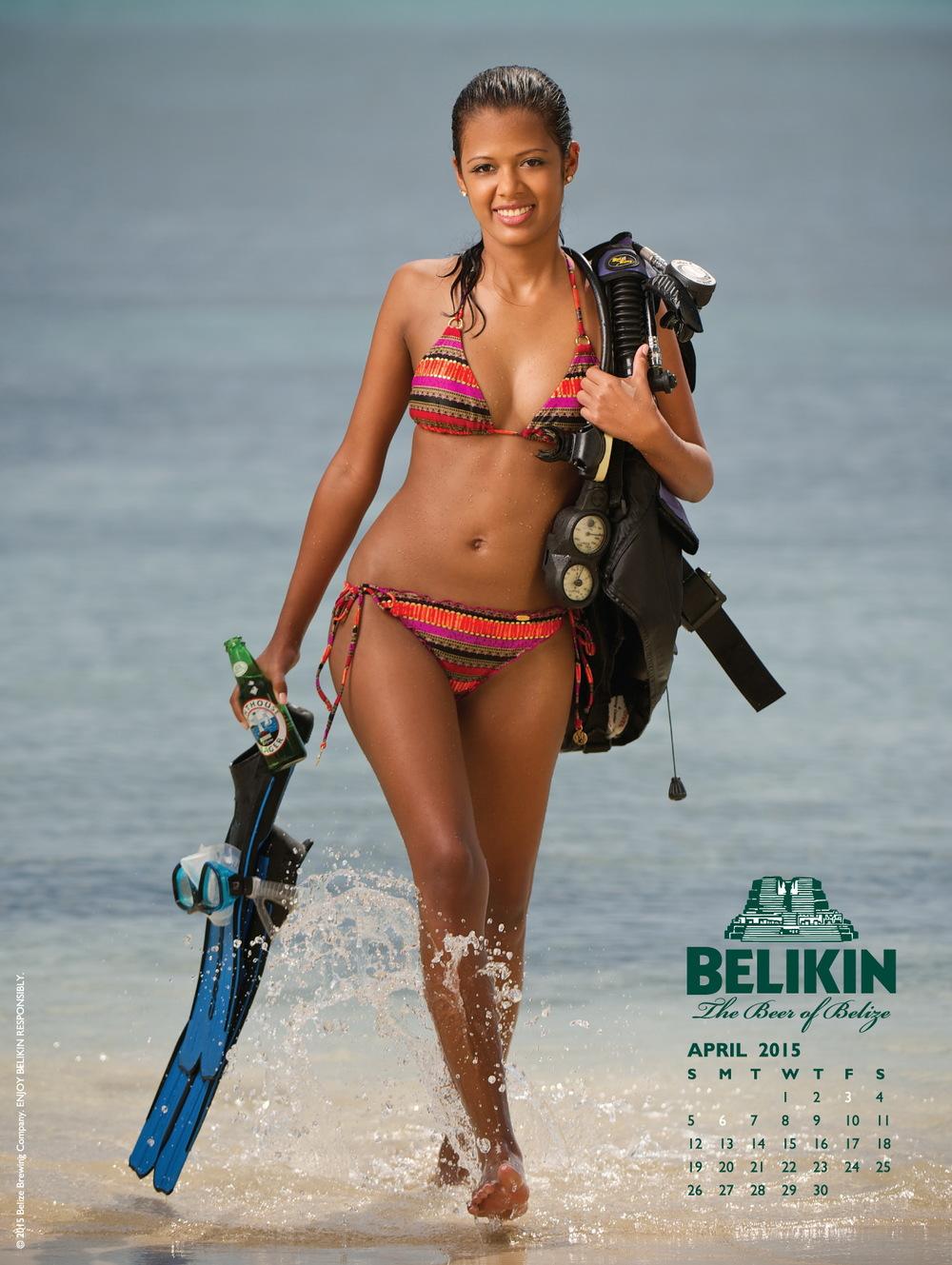 Belikin bikini calendar shoot. 2014© David Bergman