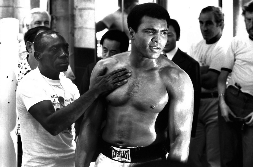 "The ""Champ"" Muhammad Ali in South Korea. © Rick Smolan © Rick Smolan/Against All Odds Productions"