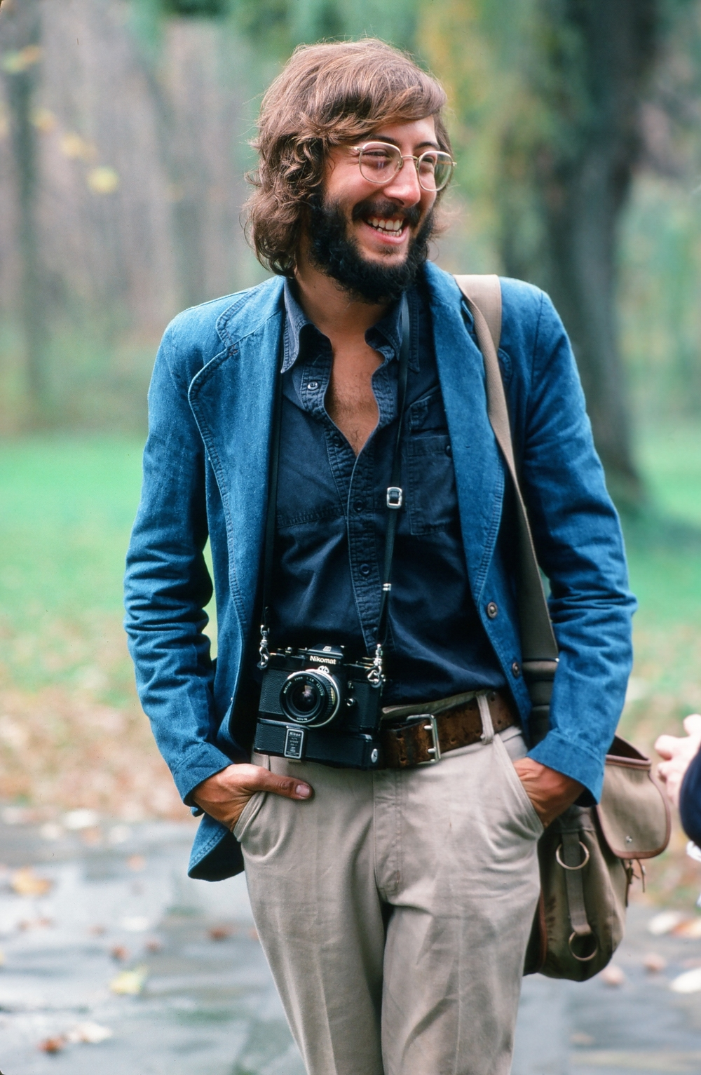 Rick Smolan (circa 1978).   ©   Gary McKinnis