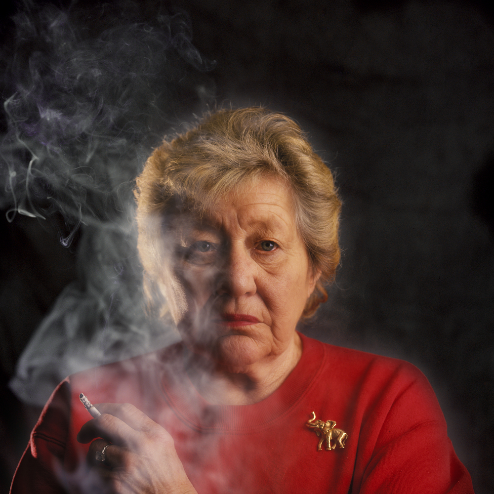 Marge Schott, owner of the Cincinnati Reds. © Bill Frakes/Sports Illustrated