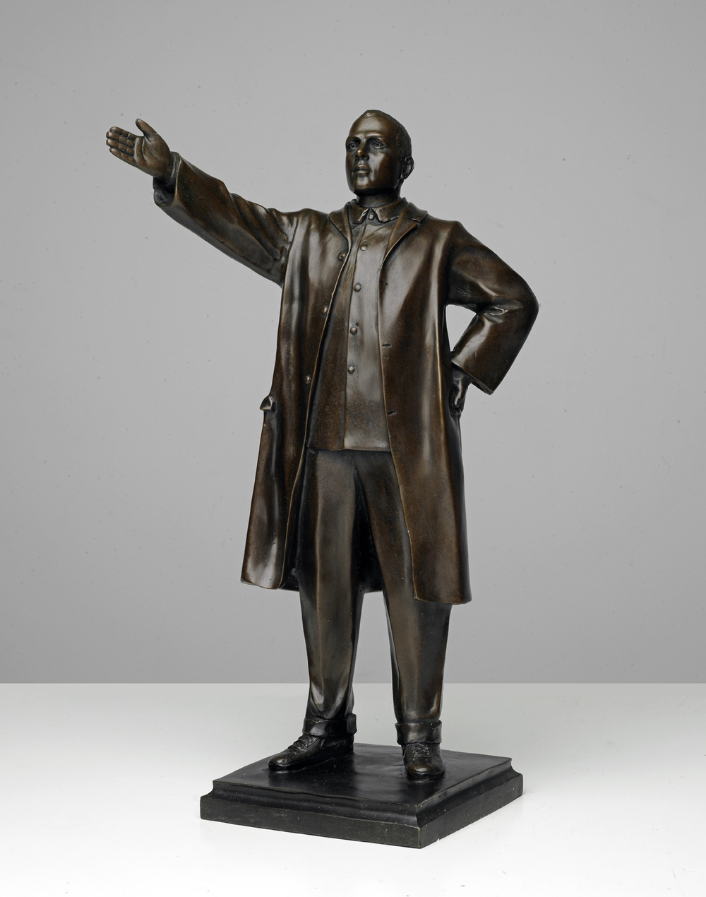From Kim Jong Phil: Mr. Toledano as Kim il-Sung. Bronze, 20 inches. © Phillip Toledano