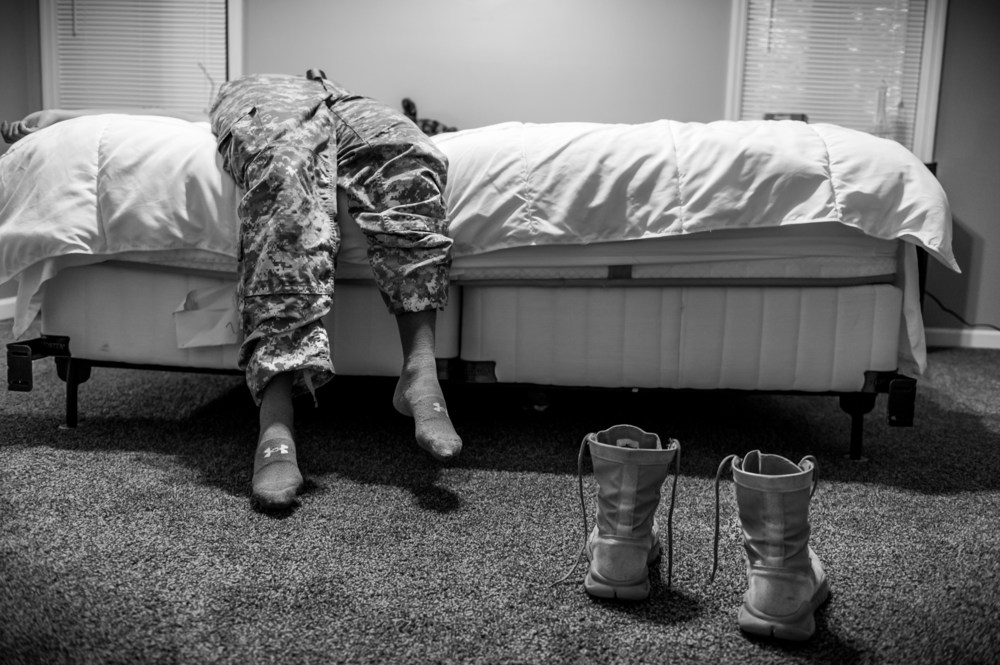 The War Within: US Army Pfc. Natasha Schuette, 21, was sexually assaulted by her drill sergeant during basic training. © Mary F. Calvert/ZUMAPRESS.com