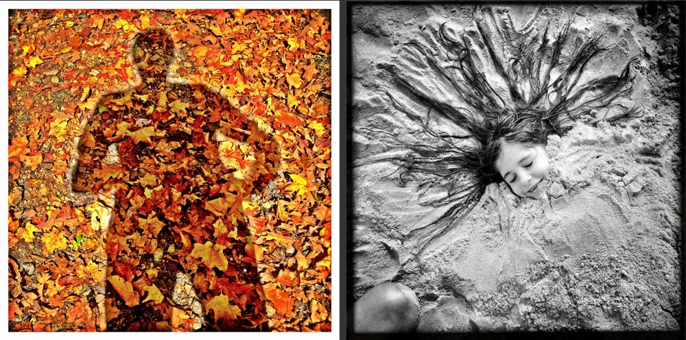 iPhone Work   : Self-portrait in Autumn; Beach time in Summer. © Mark Peterson/ReduxPictures