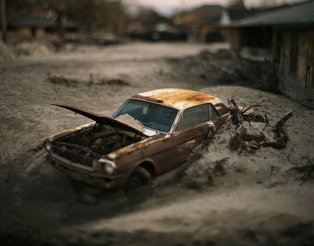 Aftermath: Hurricane Katrina.© 2015 David Burnett/Contact Press Images
