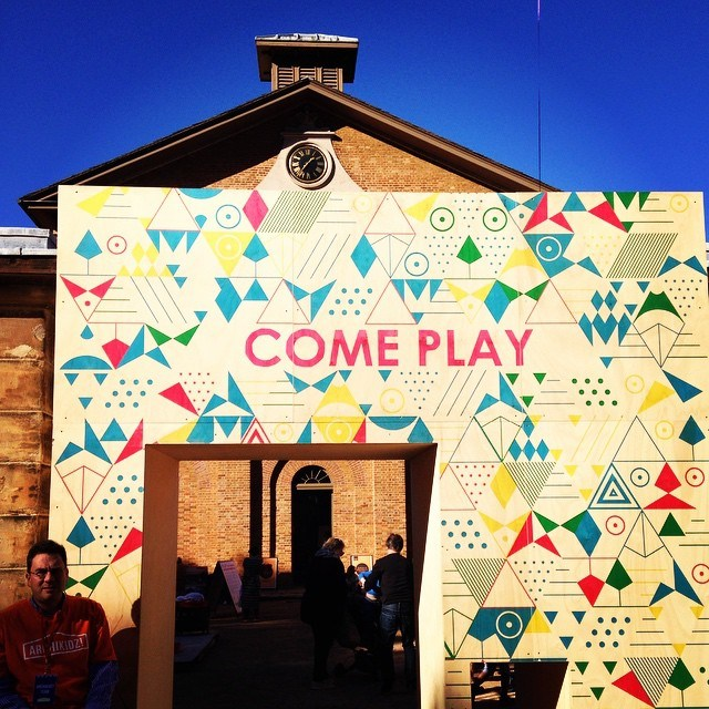 PLAY[ground] @ Vivid June  2015 Hyde Park Barracks Museum
