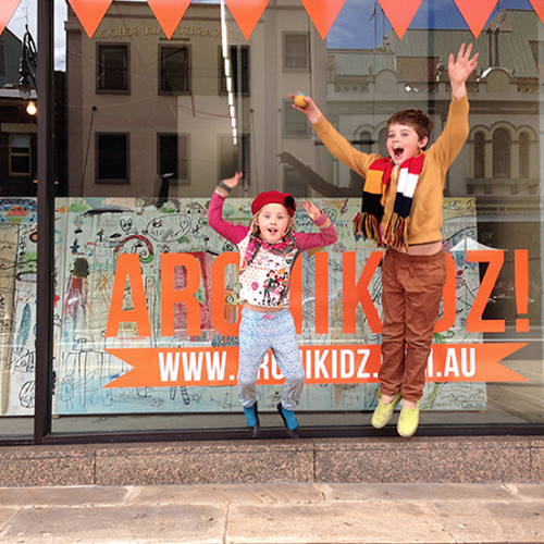 Archikidz POP-UP IN THE ROCKS  August 2014 The Rocks, Sydney