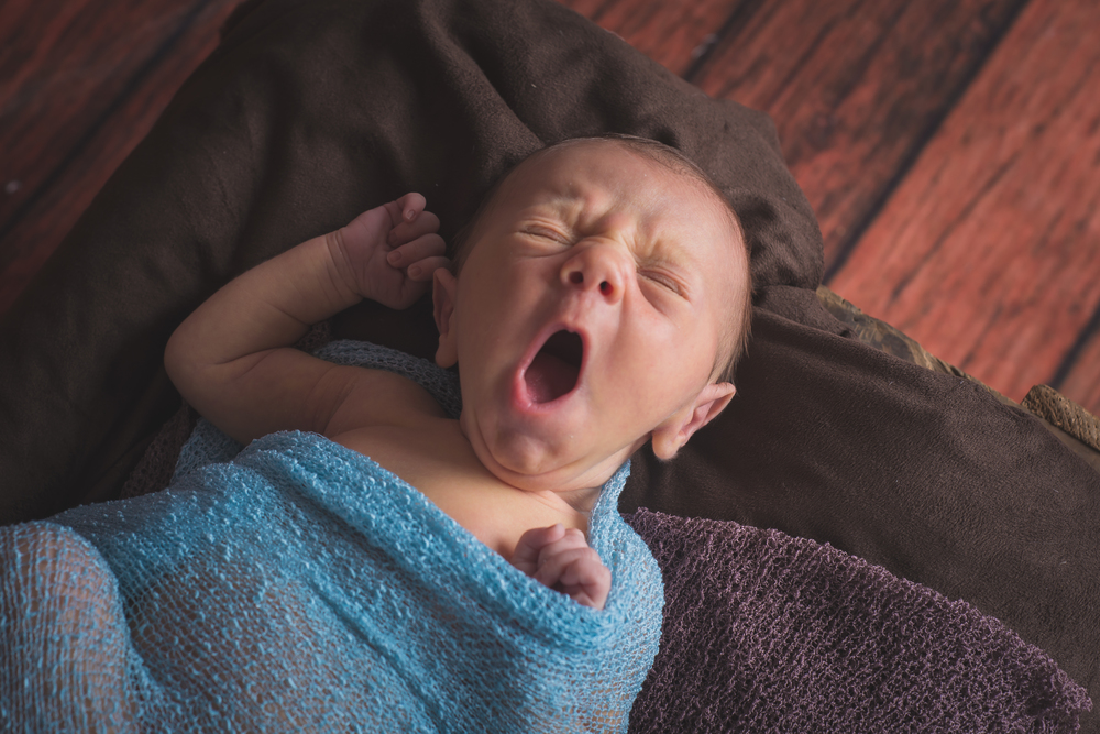 Every time I look at this image, it makes me yawn.  I don't look nearly as adorable as this little yawner!