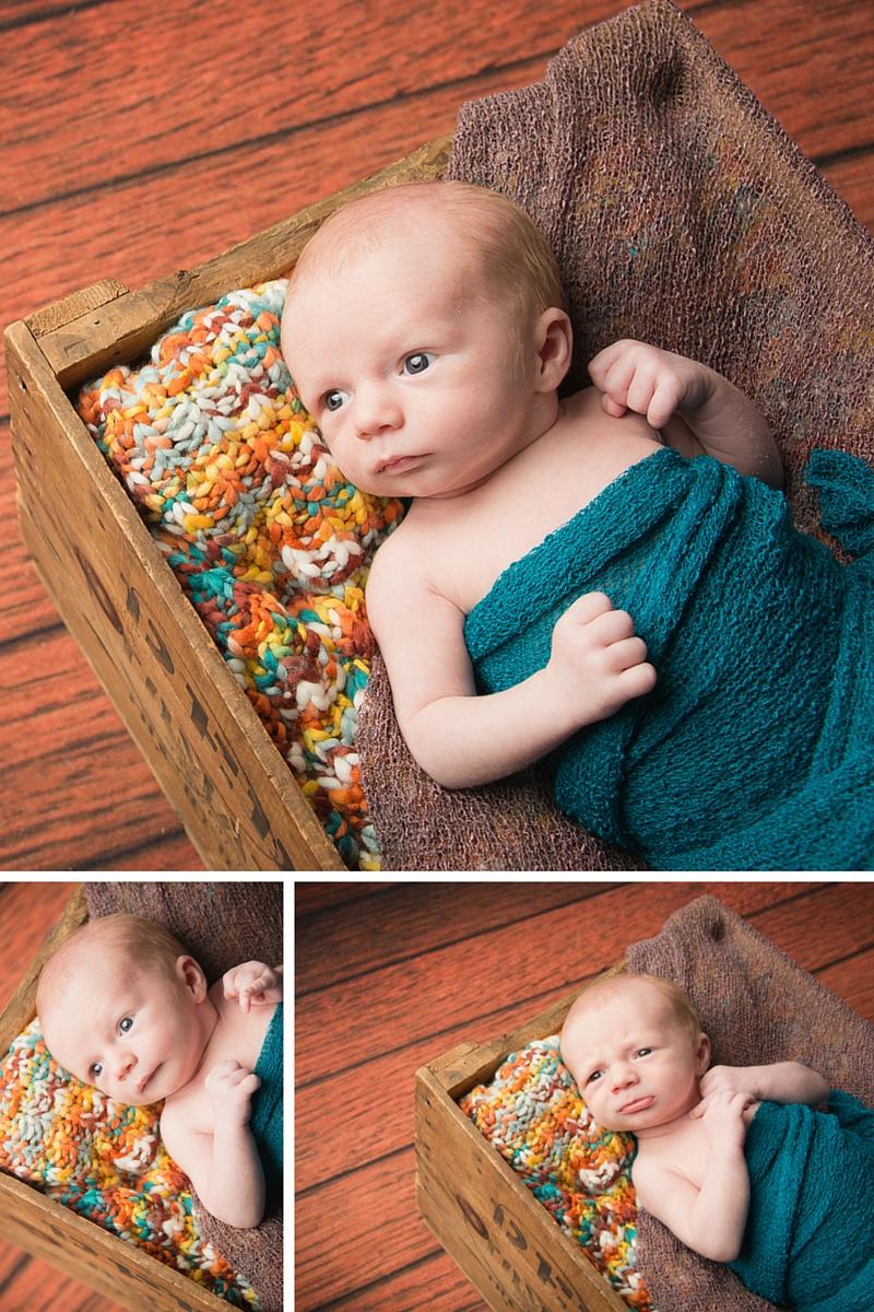 strongsville newborn in crate