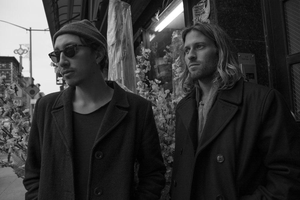 Rutger Ansley Rosenborg (guitar/vocals), Ryan S. Miller (drums).  credit: Evan Schell