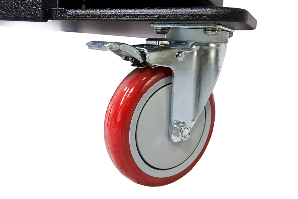 "5"" Diameter Large Swivel, Locking Casters"
