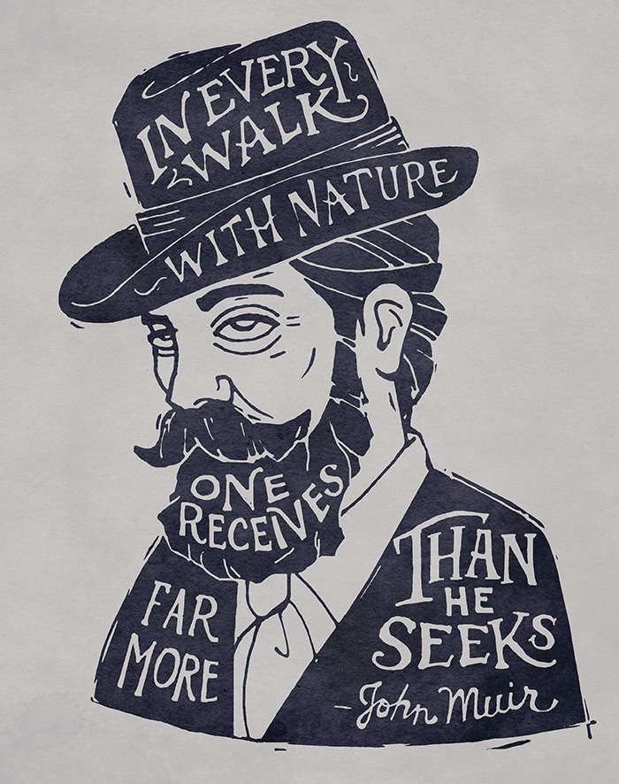 Muir Is The Man John Muir Quotes And Mountain Musings Live It Up