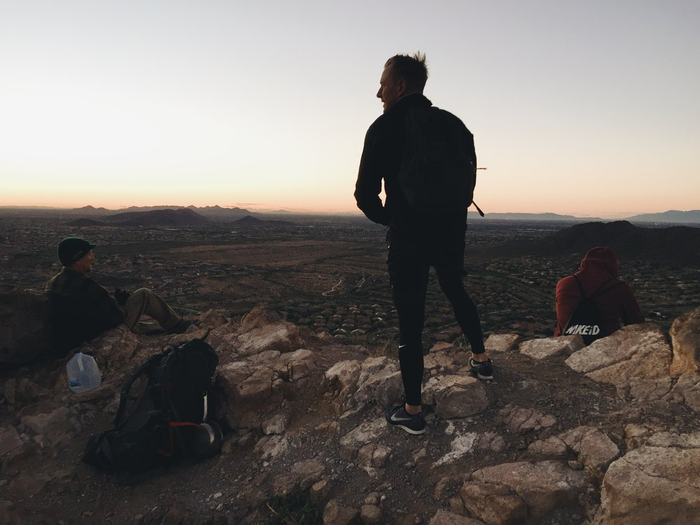 hikers in Arizona