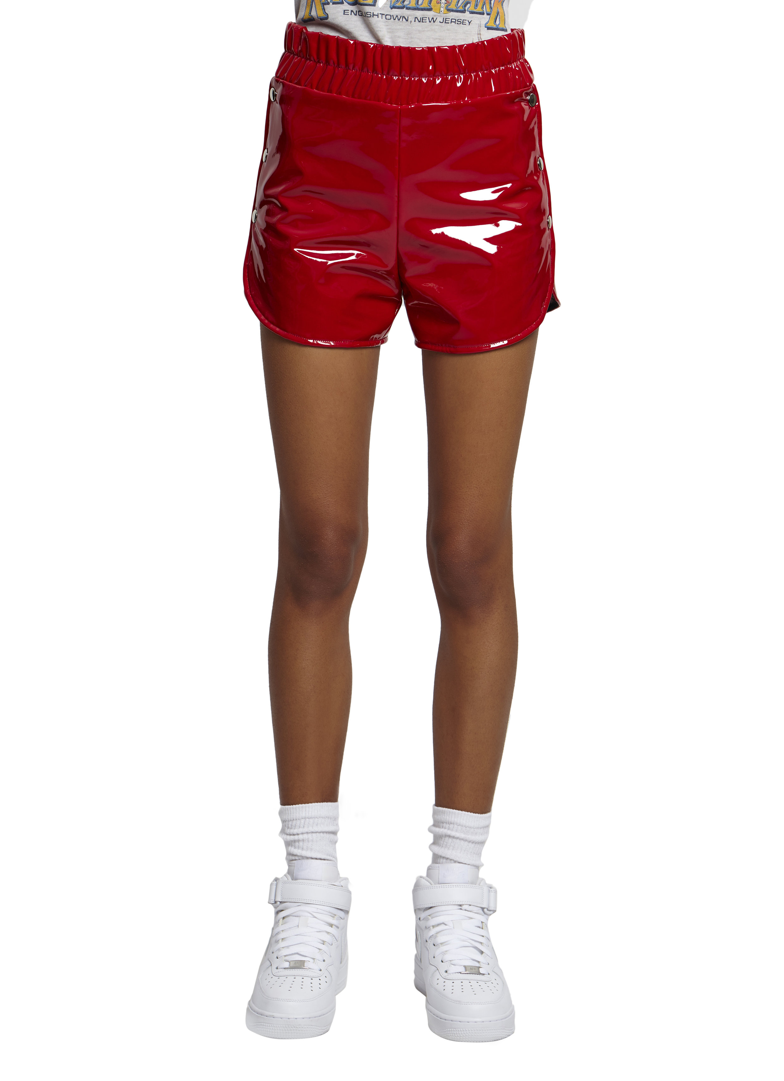 proserpine patent shorts - Red Danielle Guizio Cheap Sale From China Browse Cheap Price qNqUqf10