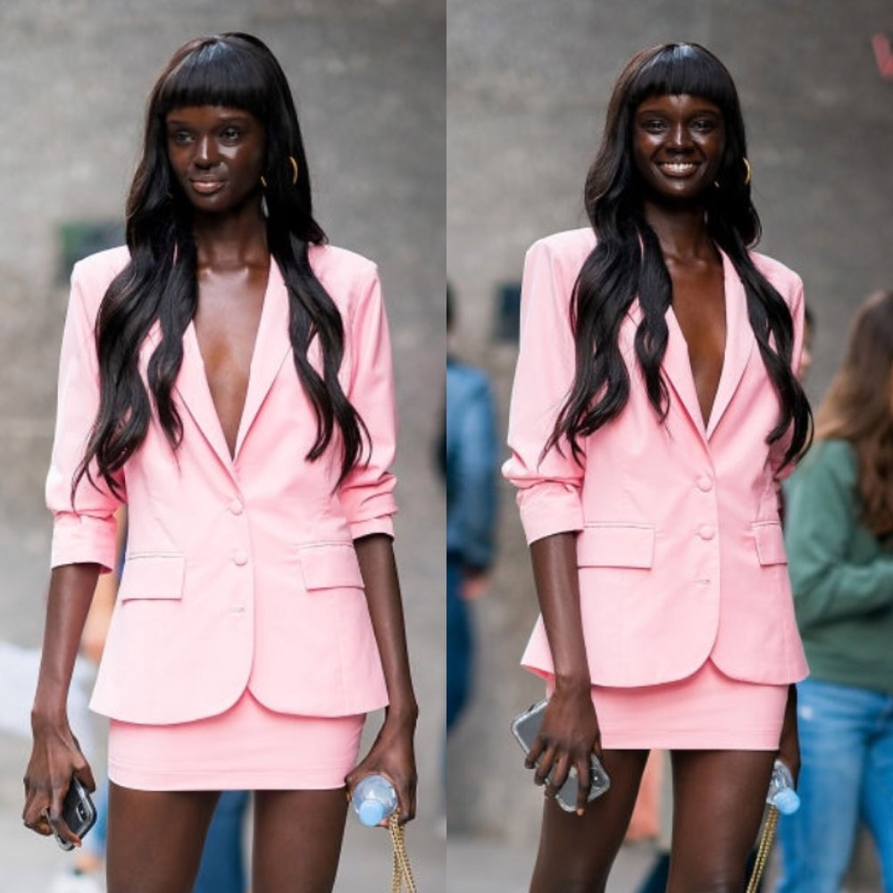DUCKIE THOT IN  OVERSIZED BLAZER  &  MINISKIRT  // NOVEMBER 2018
