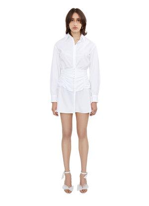 fbdcd0d77c BUTTON-DOWN CORSET SHIRT DRESS ...