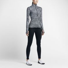 We want to stay warm without 50 thousand layers.  Leggings $55 Zip-up $48.