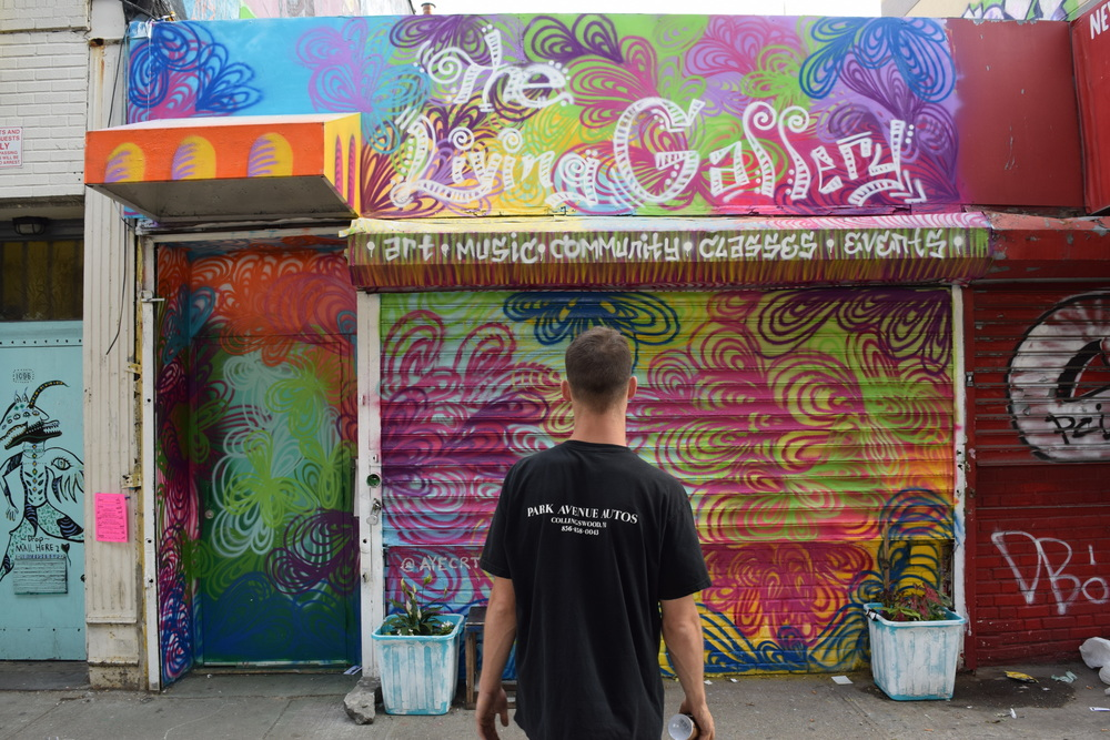 The Living Gallery Mural