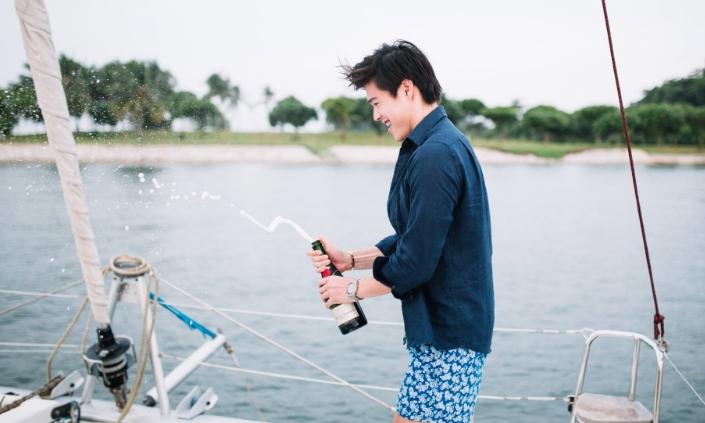 ximula sail yacht party singapore