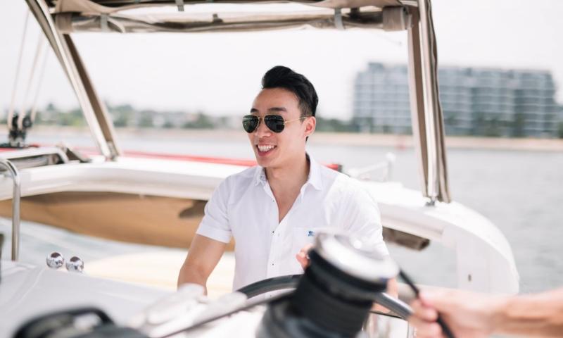 ximulasail yacht event singapore