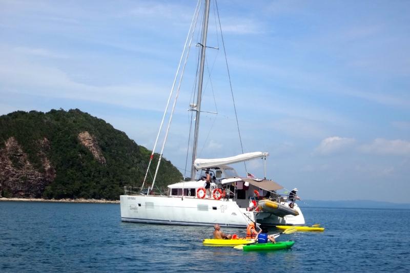 ximula yacht charter singapore
