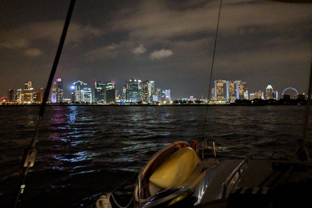 ximula sail sunset cruise yacht singapore