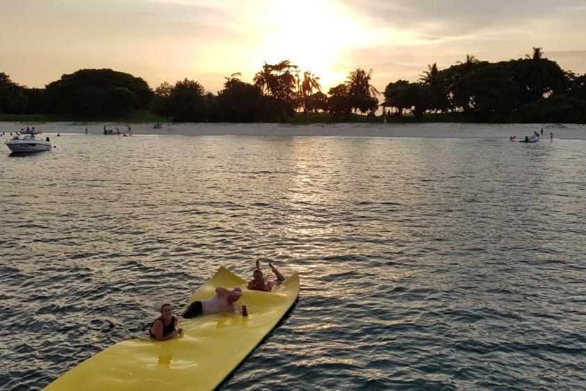ximulasail yacht charter sunset