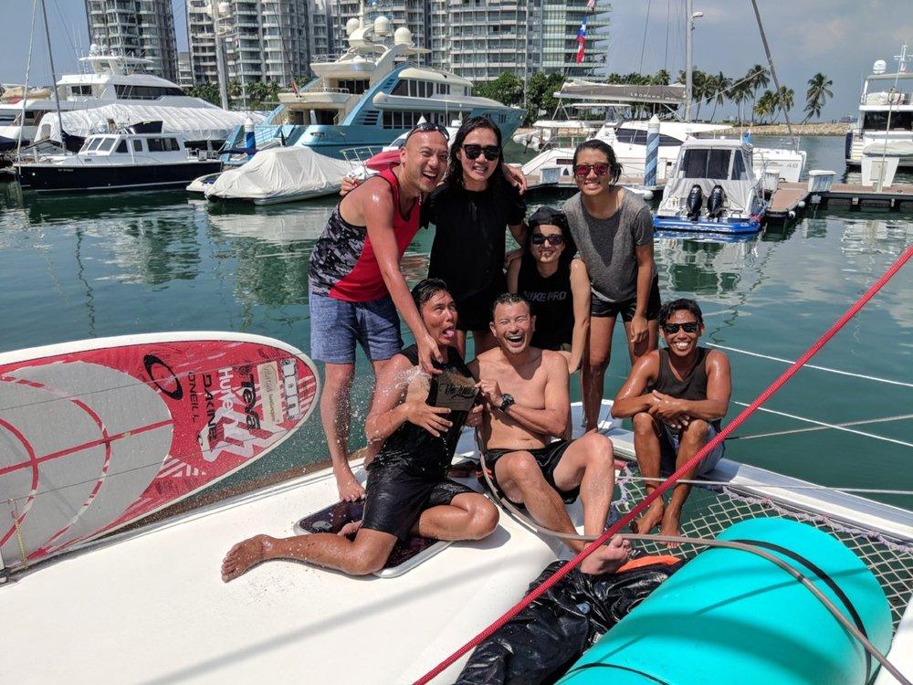 ximulasail sailing yacht charter singapore 2