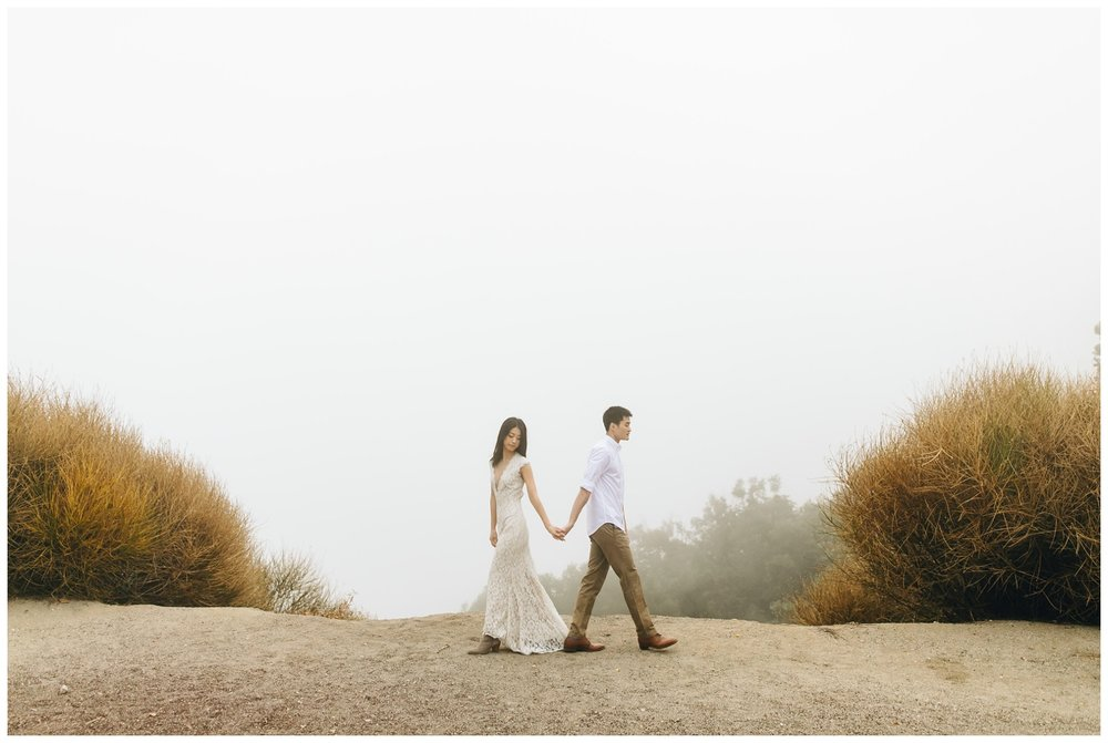 Los Angeles Forest Warm and Artistic Engagement Session-9699.jpg