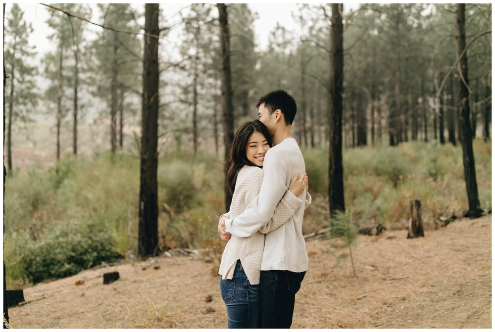Los Angeles Forest Warm and Artistic Engagement Session-9385.jpg