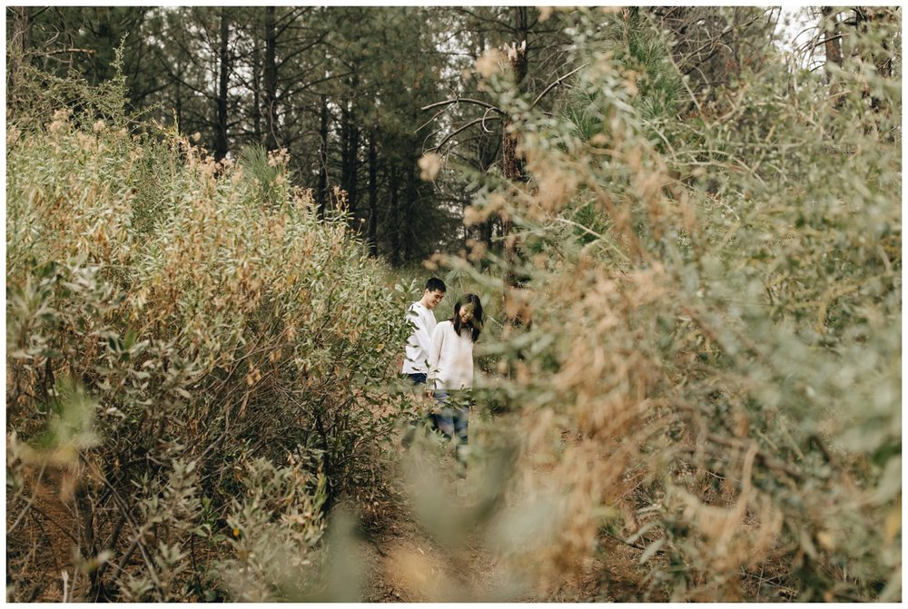 Los Angeles Forest Warm and Artistic Engagement Session-9265.jpg