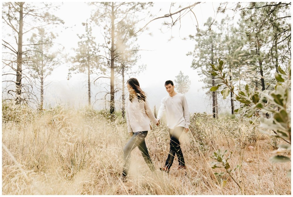 Los Angeles Forest Warm and Artistic Engagement Session-9080.jpg