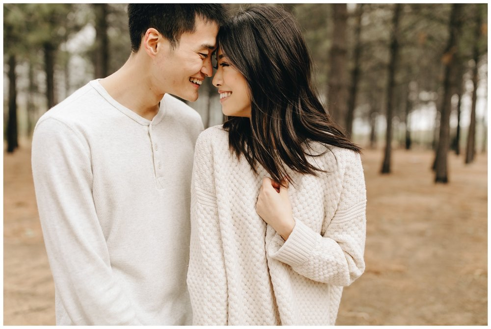 Los Angeles Forest Warm and Artistic Engagement Session-8927.jpg