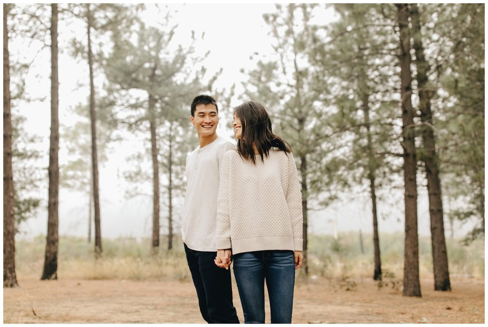 Los Angeles Forest Warm and Artistic Engagement Session-8866.jpg