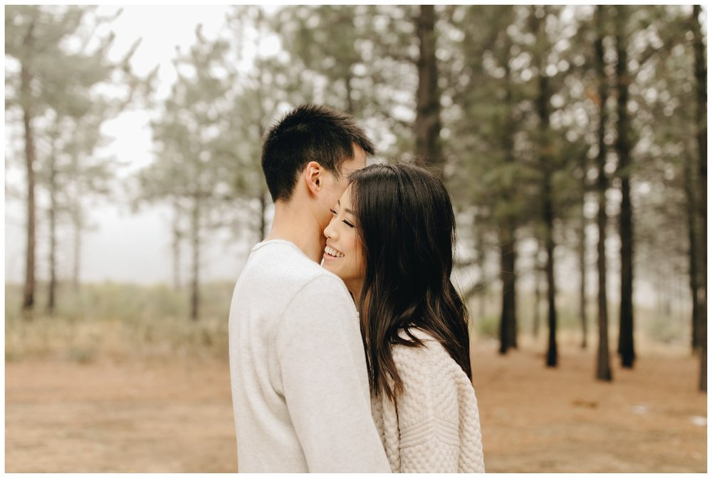 Los Angeles Forest Warm and Artistic Engagement Session-8810.jpg