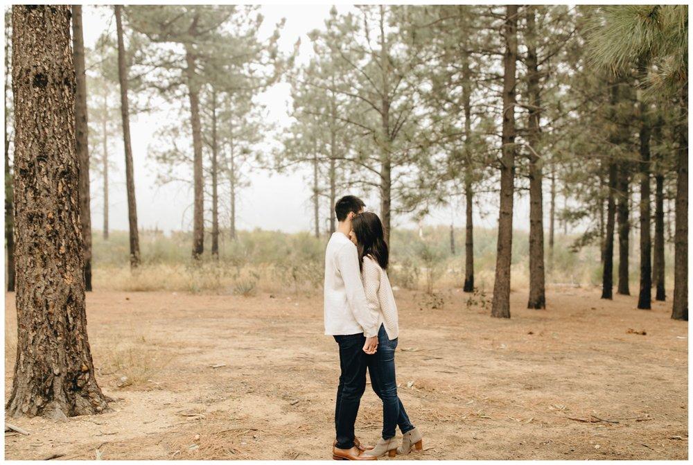 Los Angeles Forest Warm and Artistic Engagement Session-8788.jpg