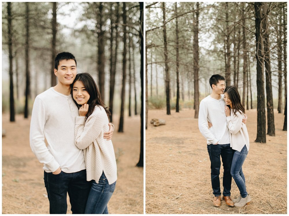 Los Angeles Forest Warm and Artistic Engagement Session-9483.jpg