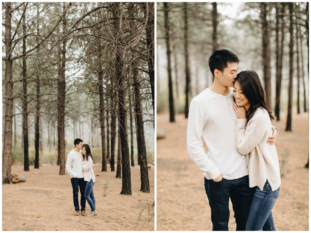 Los Angeles Forest Warm and Artistic Engagement Session-1569.jpg