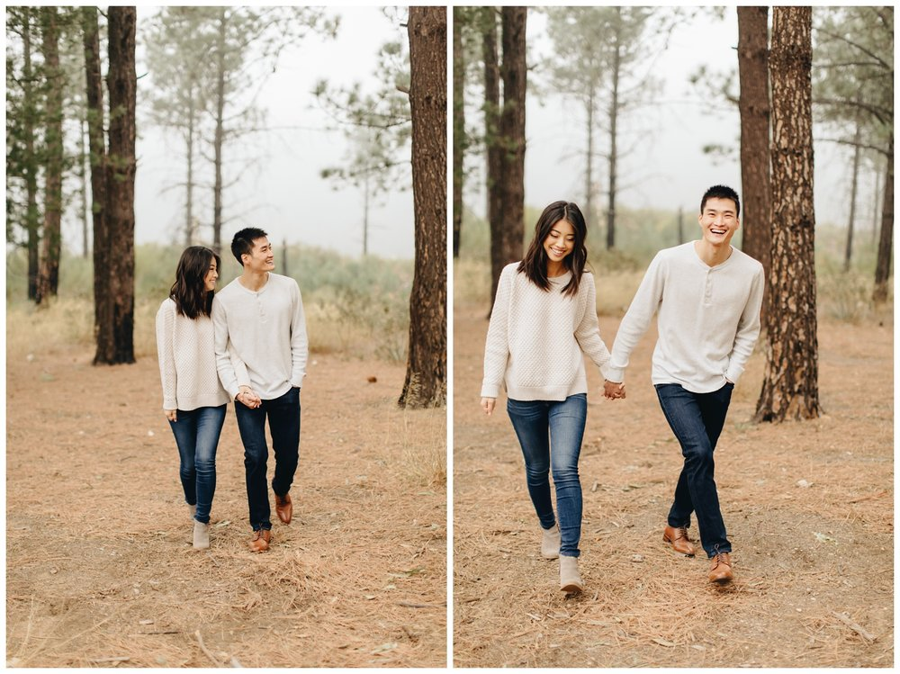 Los Angeles Forest Warm and Artistic Engagement Session-1449.jpg