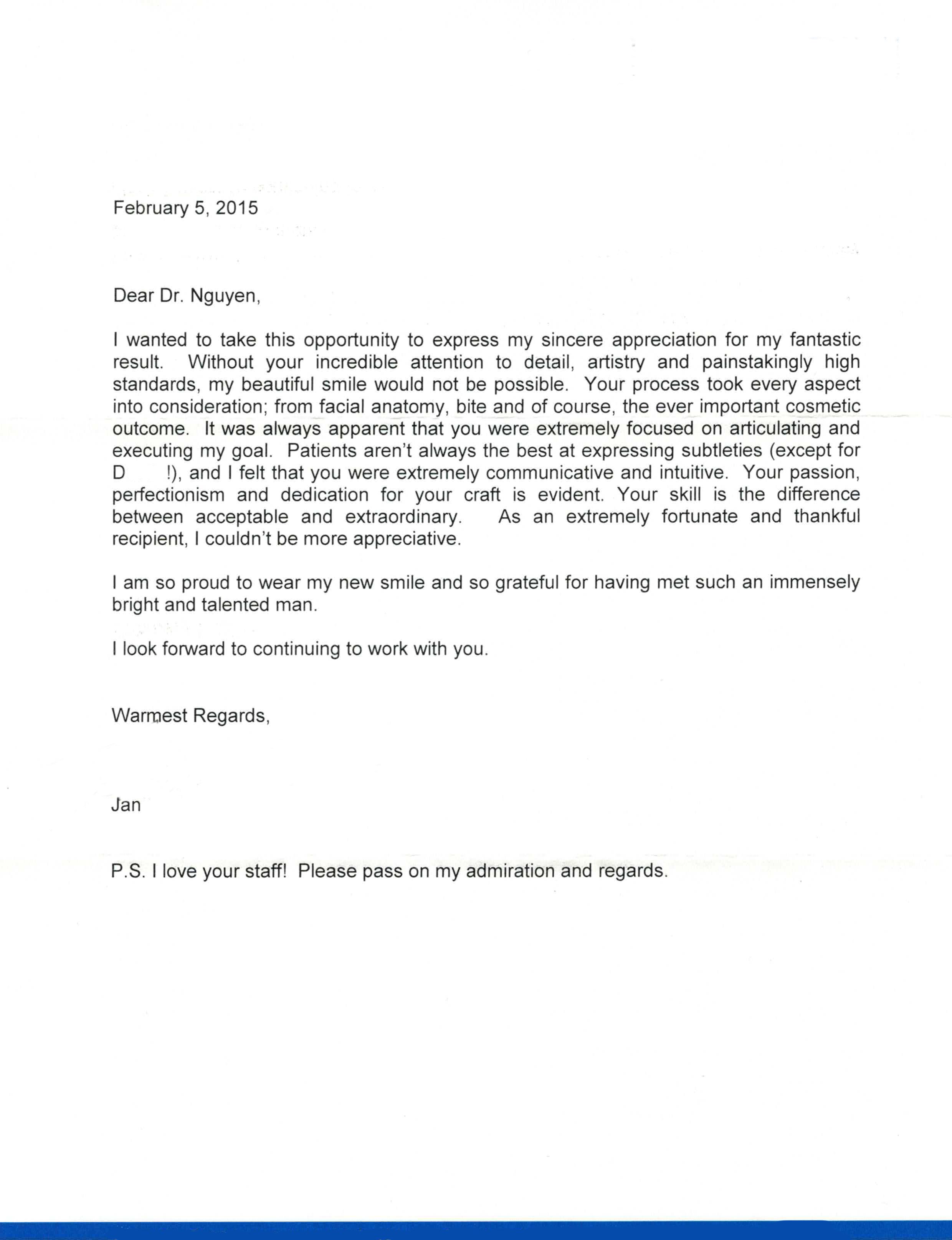 Alex Nguyen, DDS - Actual Patient Testimonial