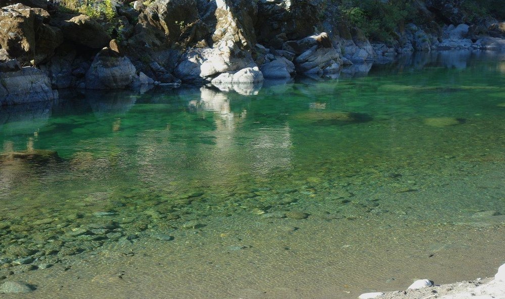 Our first stop on Day Three was the middle fork of the Smith River in Northern California
