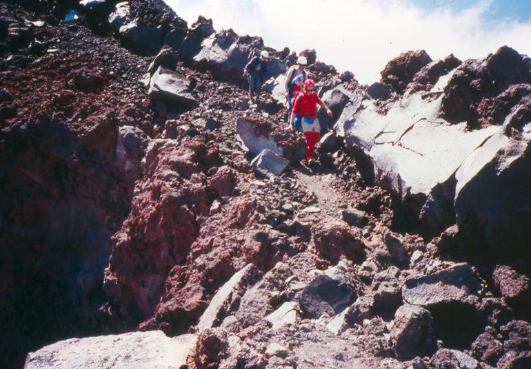 Mt. Adams — climbing the north side.