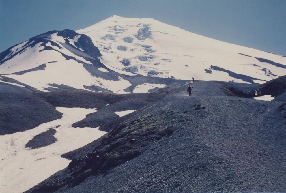Mt. St. Helens — view to top in 1979
