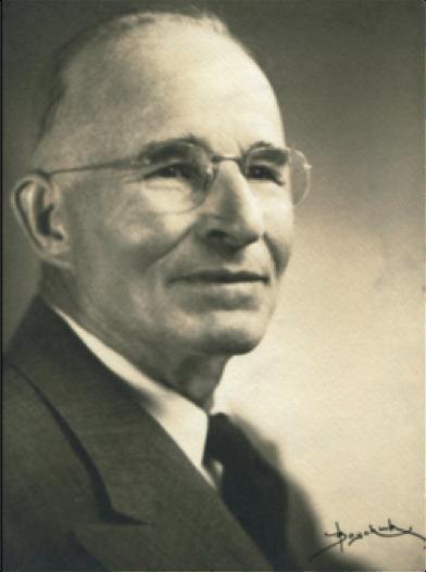 Lon Hancock, GSOC President of 1945. GSOC Archive photo.