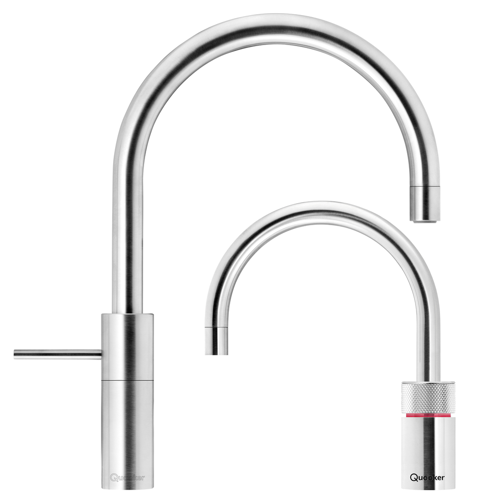 quooker twin taps round